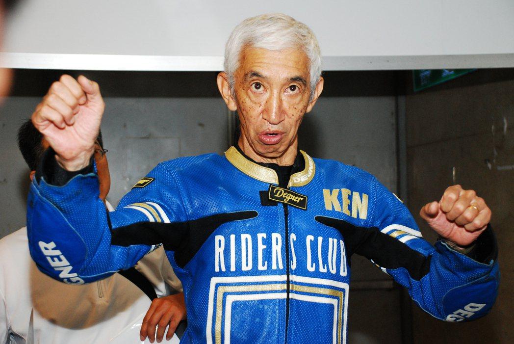 日本神人級的前 WGP 選手根本健。記者林昱丞/攝影