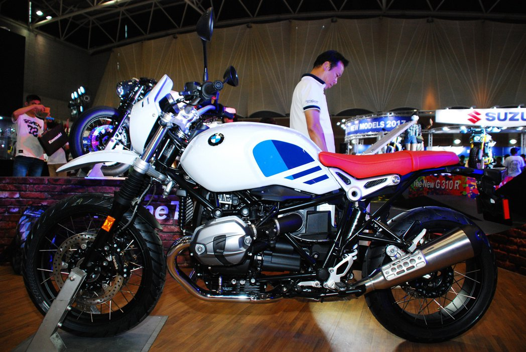 BMW R Nine T Urban G/S。記者林昱丞/攝影