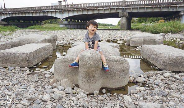 鴨川烏龜石