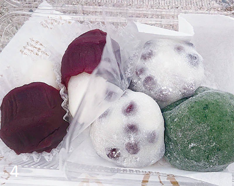 名代豆餅很適合帶到鴨川野餐