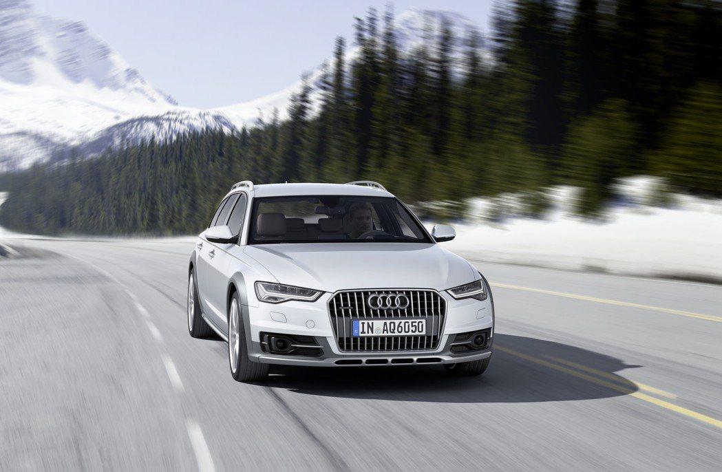 A6 allroad quattro。圖/Audi提供