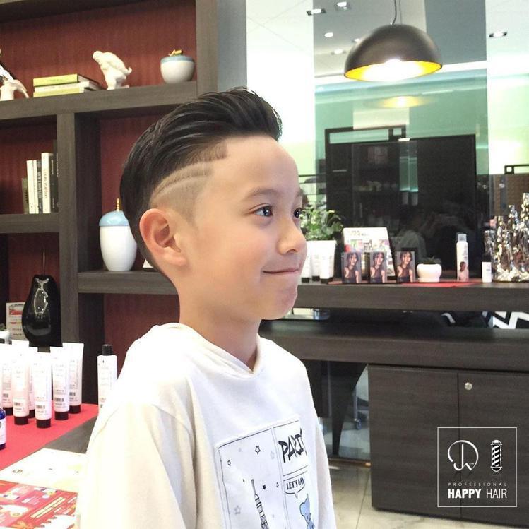 髮型創作/HAPPYHAIR台中精誠旗艦店 - 健智。圖/HairMap美髮地圖...