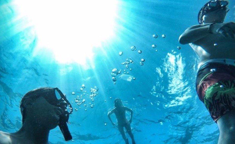 浮潛。(圖/旅途中)