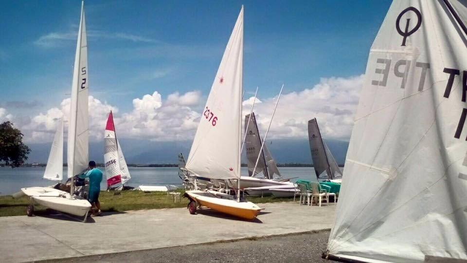 雙帆體驗。(圖/旅途中)