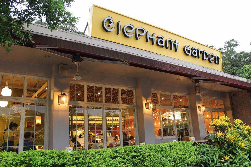 象園咖啡廳附近景色優美宜人,可以享受悠閒的用餐時光。(圖片提供/象園咖啡)