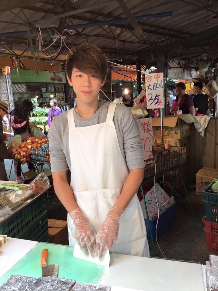 涼糕哥已經重回東湖市場賣涼糕。圖/摘自臉書