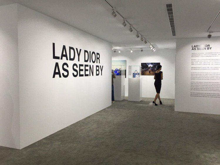 Lady Dior AS SEEN BY藝術展7月22日開展。圖/記者楊詩涵攝影