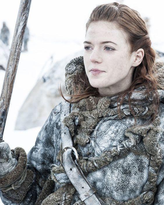 羅絲萊斯利在「冰與火之歌:權力遊戲」演女野人。圖/摘自imdb