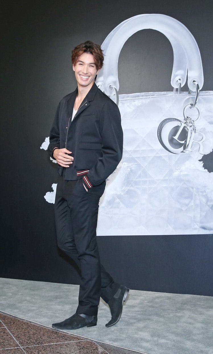 錦榮出席Lady Dior AS SEEN BY藝術展。記圖/記者陳柏亨攝影