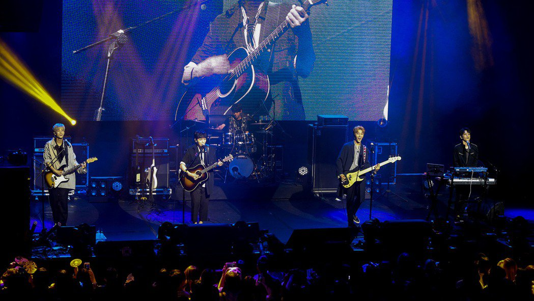 韓國男子樂團DAY6再度來台舉辦見面會。記者黃威彬/攝影