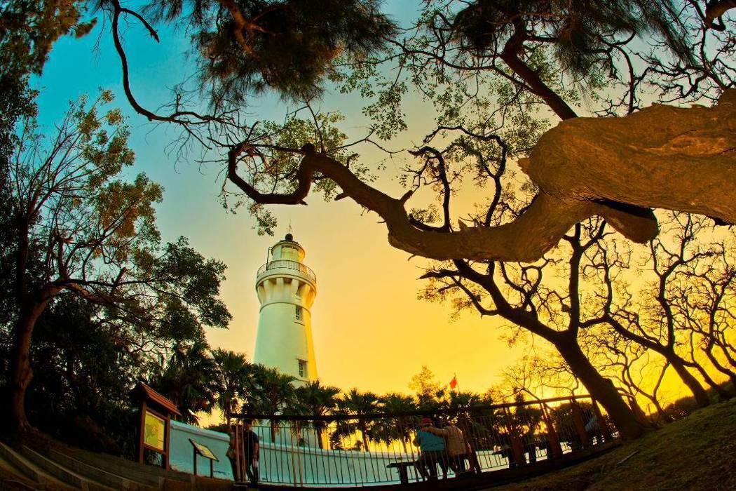 白沙岬燈塔。 圖/航港局提供