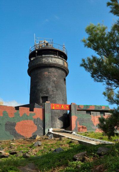 烏坵燈塔。 圖/航港局提供