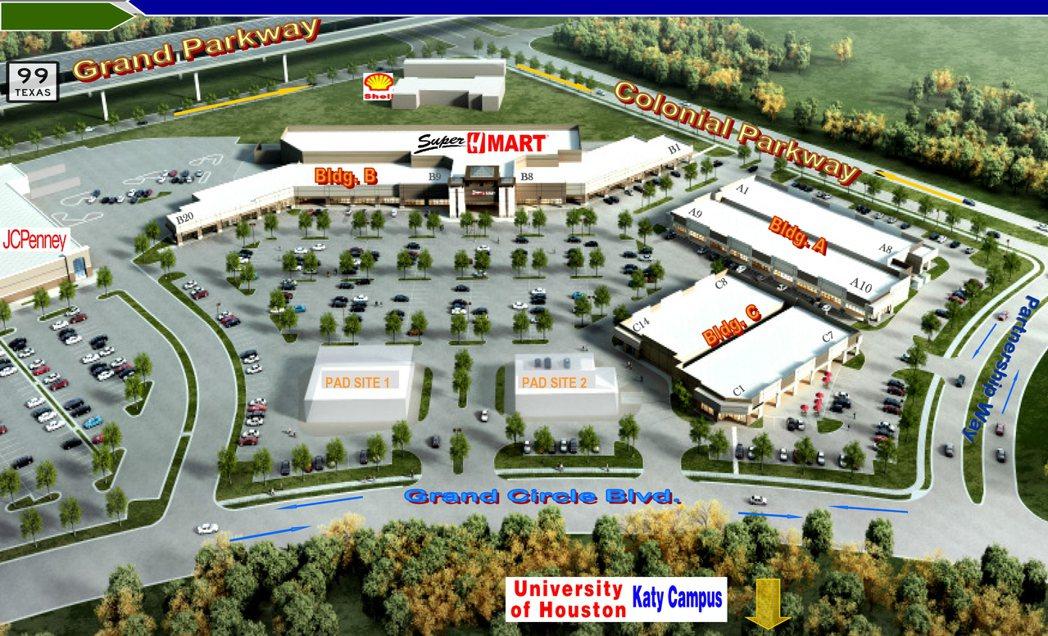 即將完工的凱蒂亞洲城Katy Asian Town,將成為亞裔深入主流消費市場的...