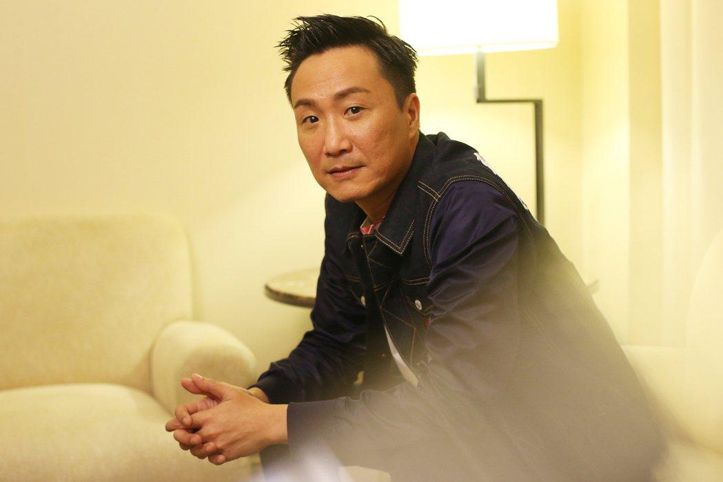香港歌手鄭中基。 中央社