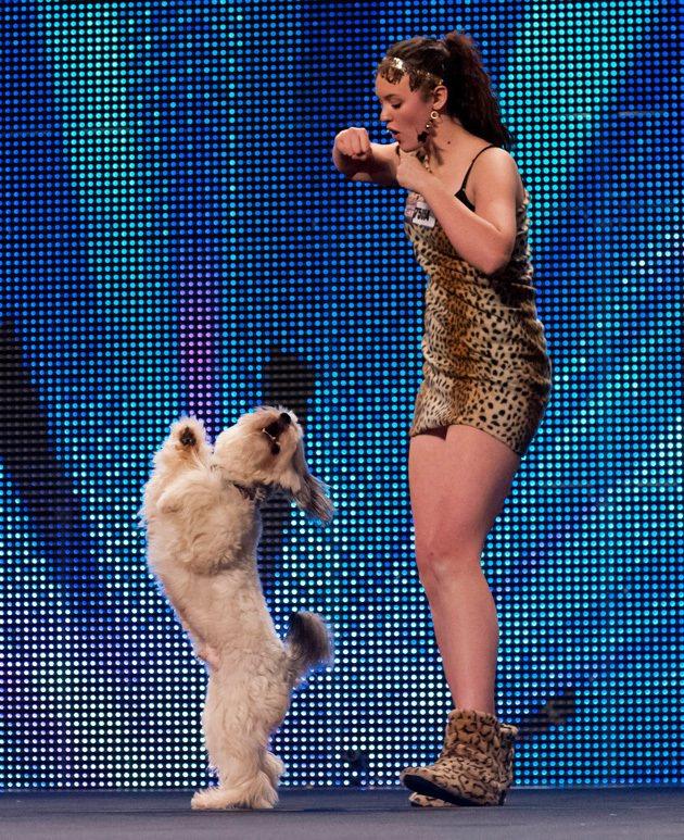 派西與艾許莉合作舞蹈勇奪「英國達人」冠軍。圖/摘自somescreamingfa...