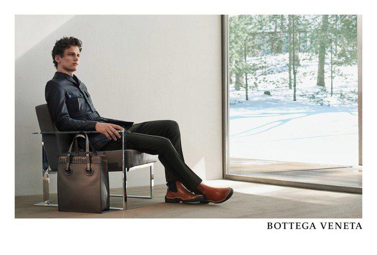 Bottega Veneta秋冬廣告選在美國康乃狄克州著名的建築Lee Hous...