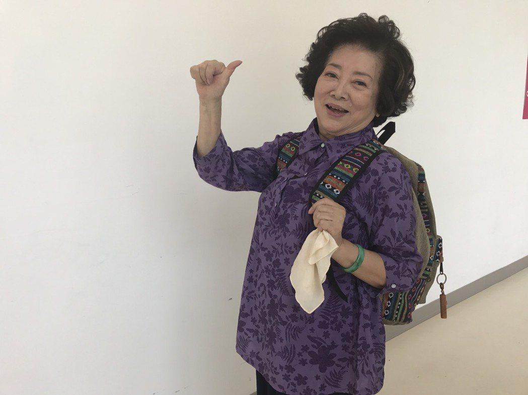 陳淑芳戲齡超過40年,愈演愈有活力。圖/民視提供