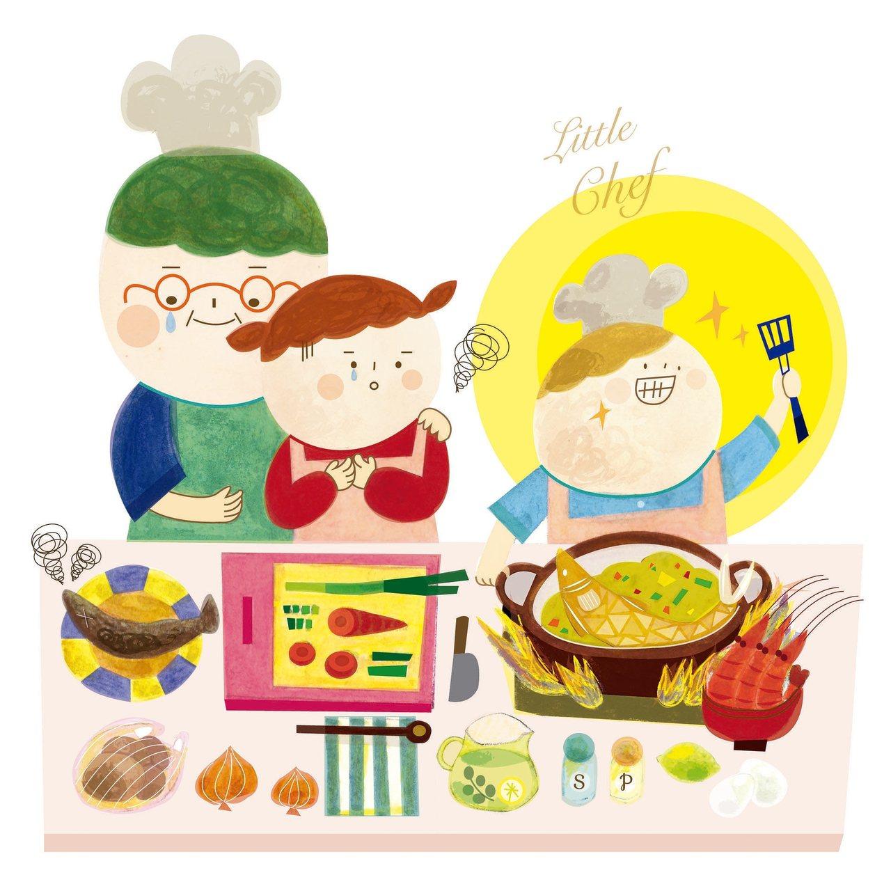 煮魚湯不用煎應該難不倒我,薑片切細絲、米酒輕輕灑,起鍋前再丟些蔥珠增香添味兒,兩...