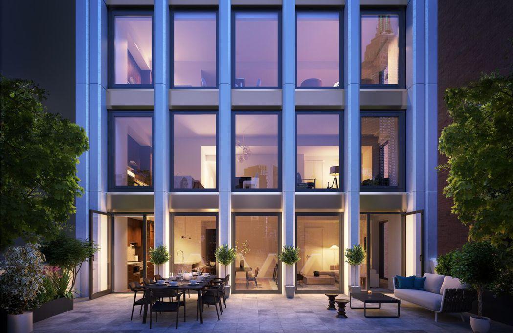 美國紐約曼哈頓中城區30E31東三十一街新建案以一戶最低不到170萬美金搶市並引...