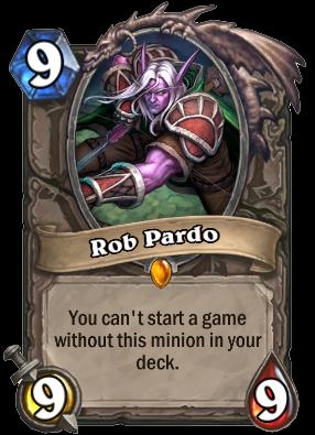 身為Team 5的一員Rob Pardo也有專屬於他自己的惡搞卡片。作為Team...