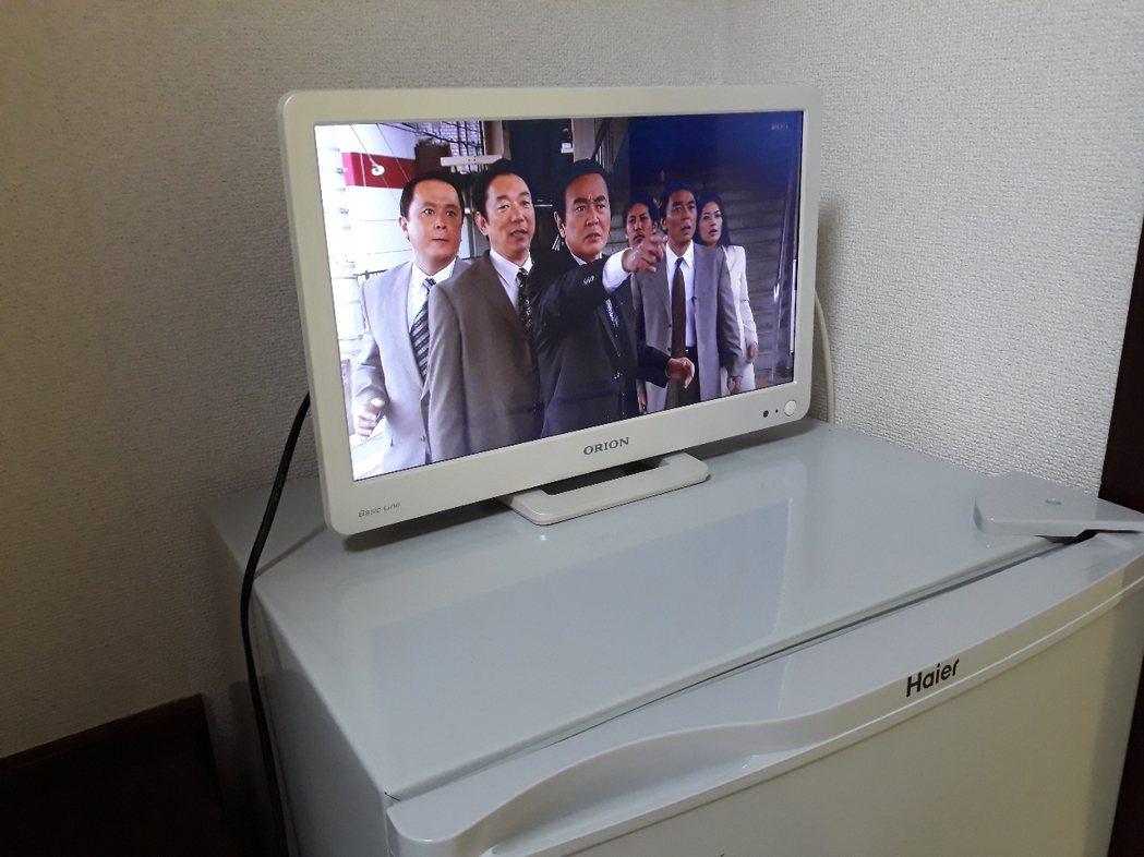 還有電視能看 圖片來源/ptt