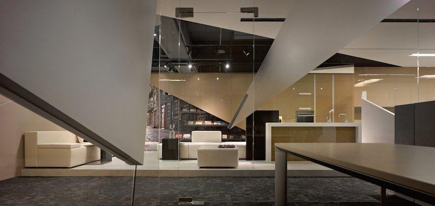 (圖)《恆橋國際辦公室》以化學分子的概念衍生,凝聚品牌與空間的氛圍
