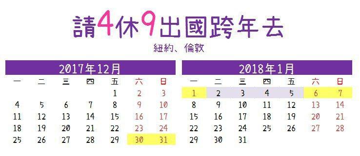 請4天休9天(圖片來源:欣飛行製)