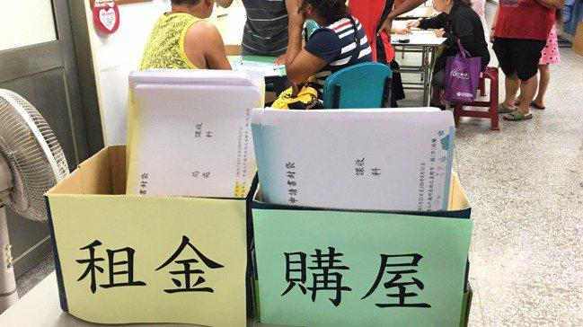 內政部營建署今天表示,23日至8月31日開放住宅補貼受理申請。 報系資料照。