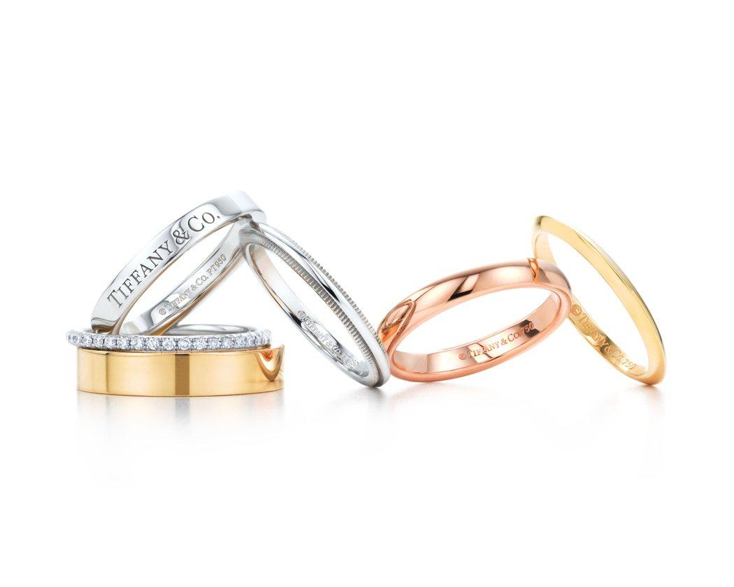 Tiffany經典戒環,價格店洽。圖/Tiffany提供