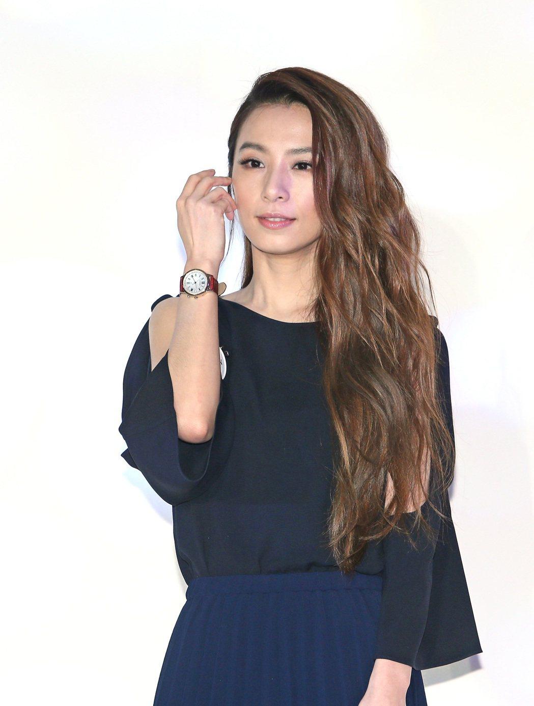 CITIZEN下午舉行女錶新品上市記者會,藝人田馥甄代言。記者陳柏亨/攝影
