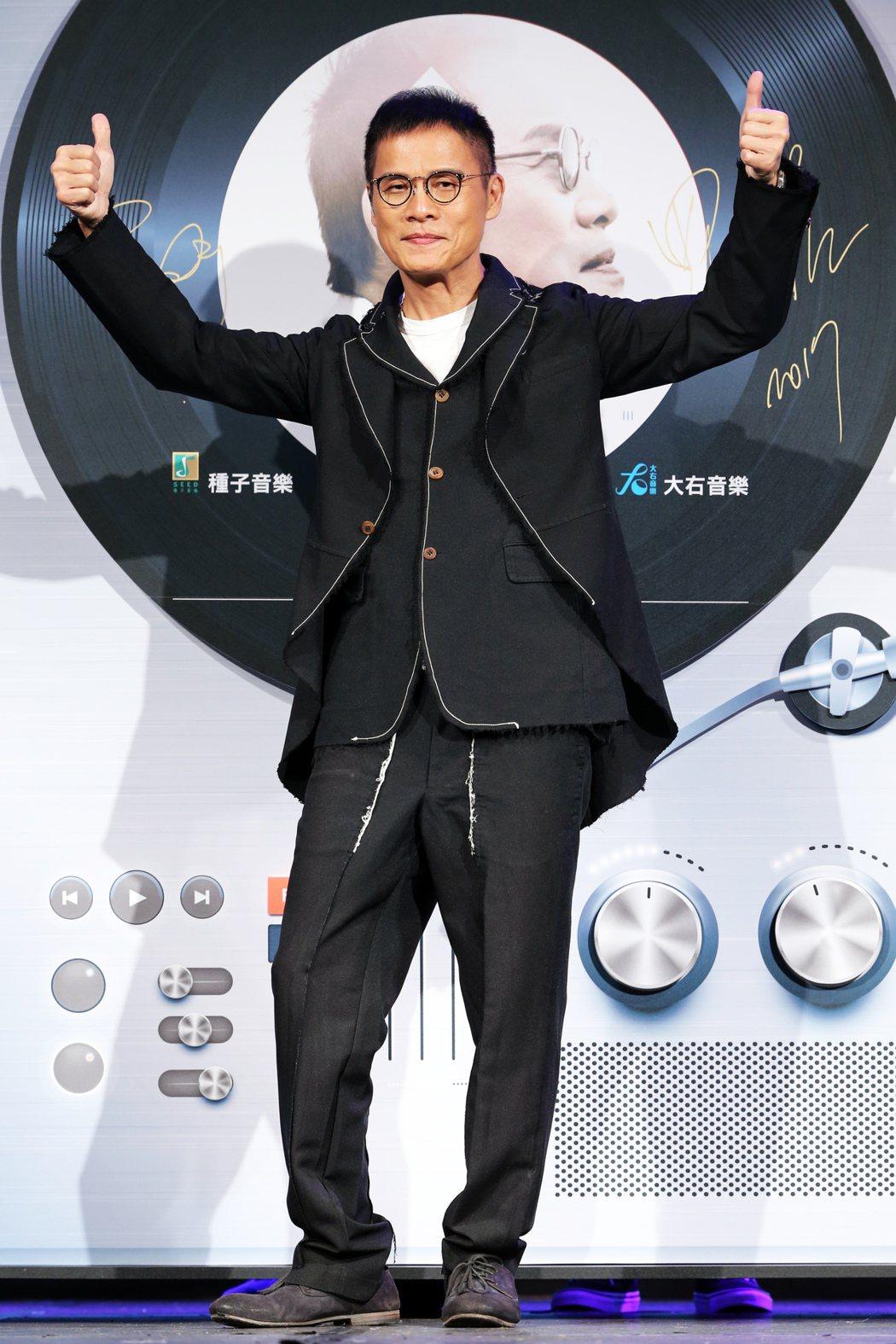 睽違歌壇13年,羅大佑今天推出第8張個人專題《家III》。記者徐兆玄/攝影