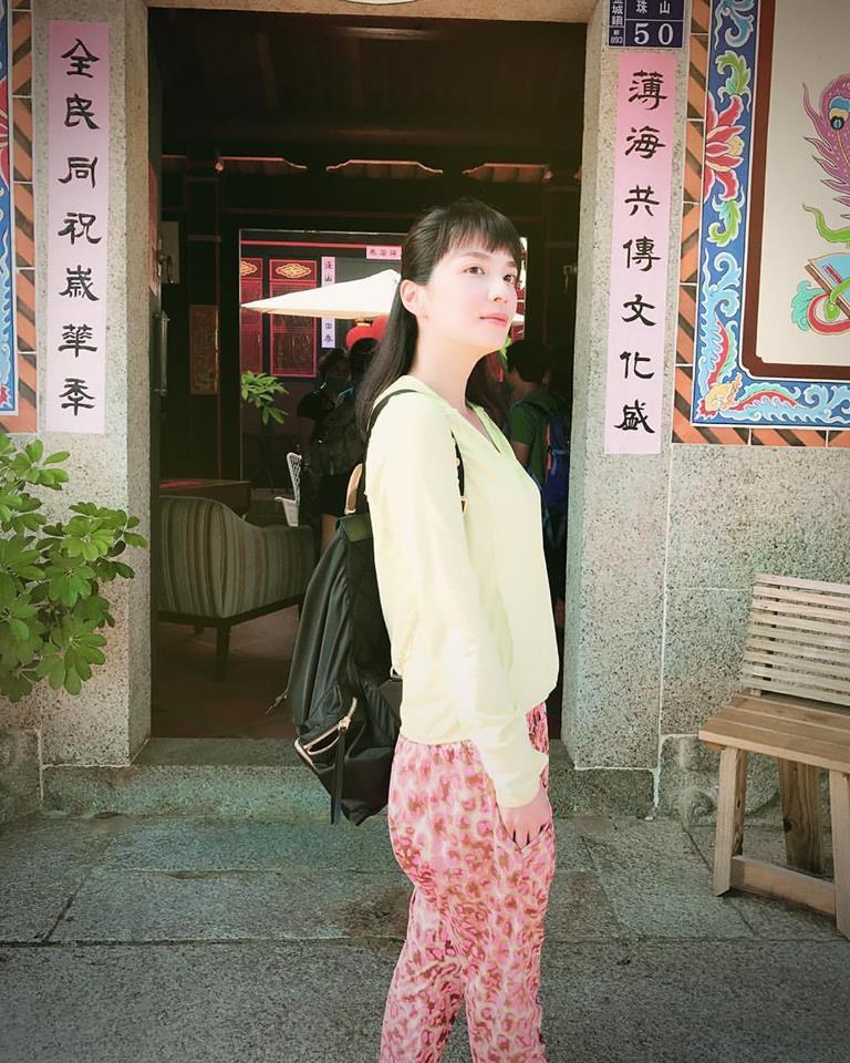 王湘瑩現在工作漸入佳境。圖/摘自王湘瑩臉書