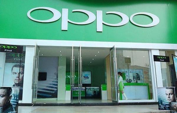大陸手機品牌oppo。圖截自官網。