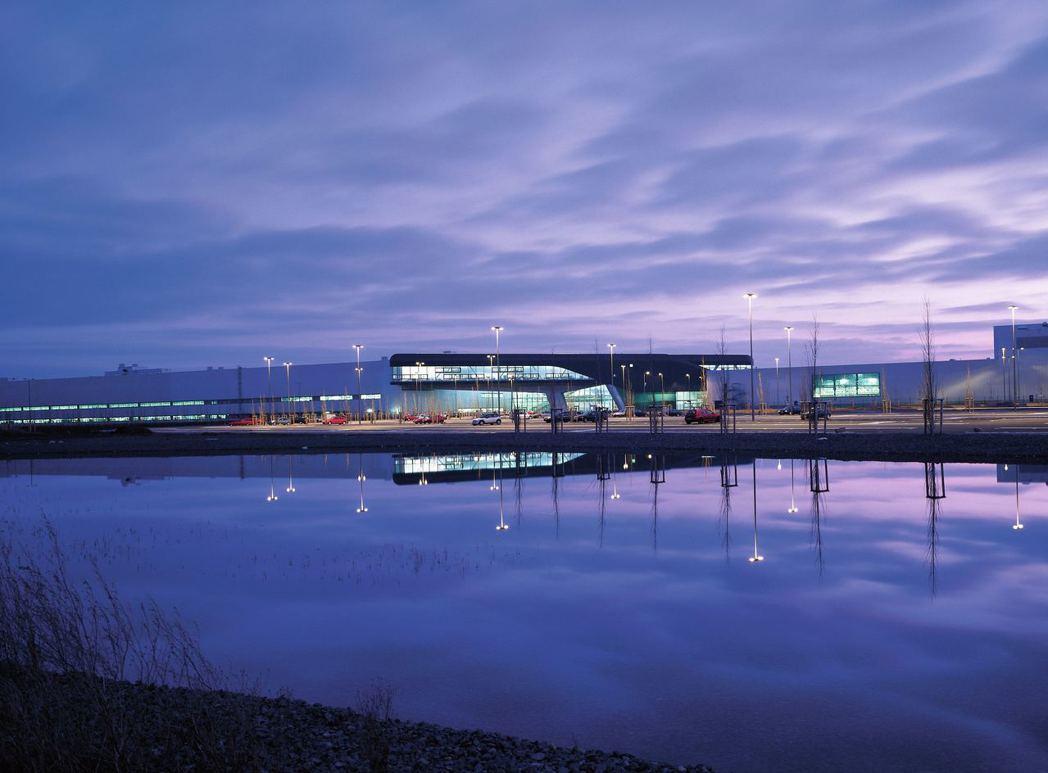 BMW集團萊比錫工廠。圖/BMW提供