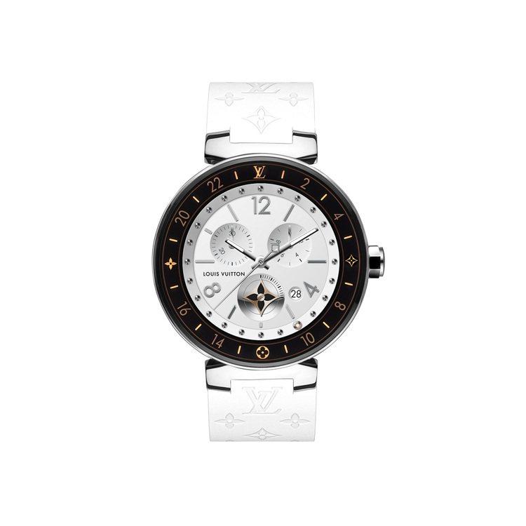 Tambour Horizon智能錶的內建面盤模式,也能夠挑選LV經典腕錶的錶盤...