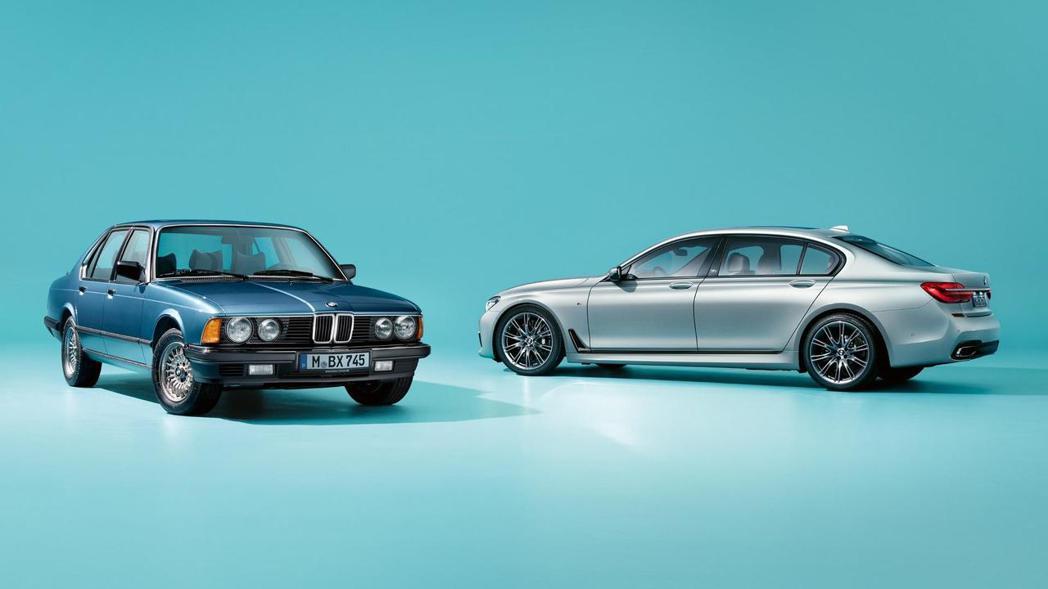BMW 7-Series 40 jahre全球限量200台。 摘自BMW Blo...