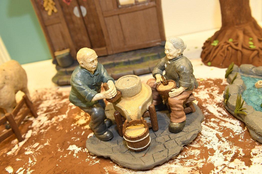 廚藝大賽「靜態展示」作品精緻,富含故事性。圖/台灣觀光協會 提供