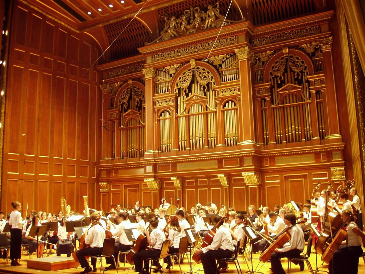 校內的音樂廳 Jordan Hall