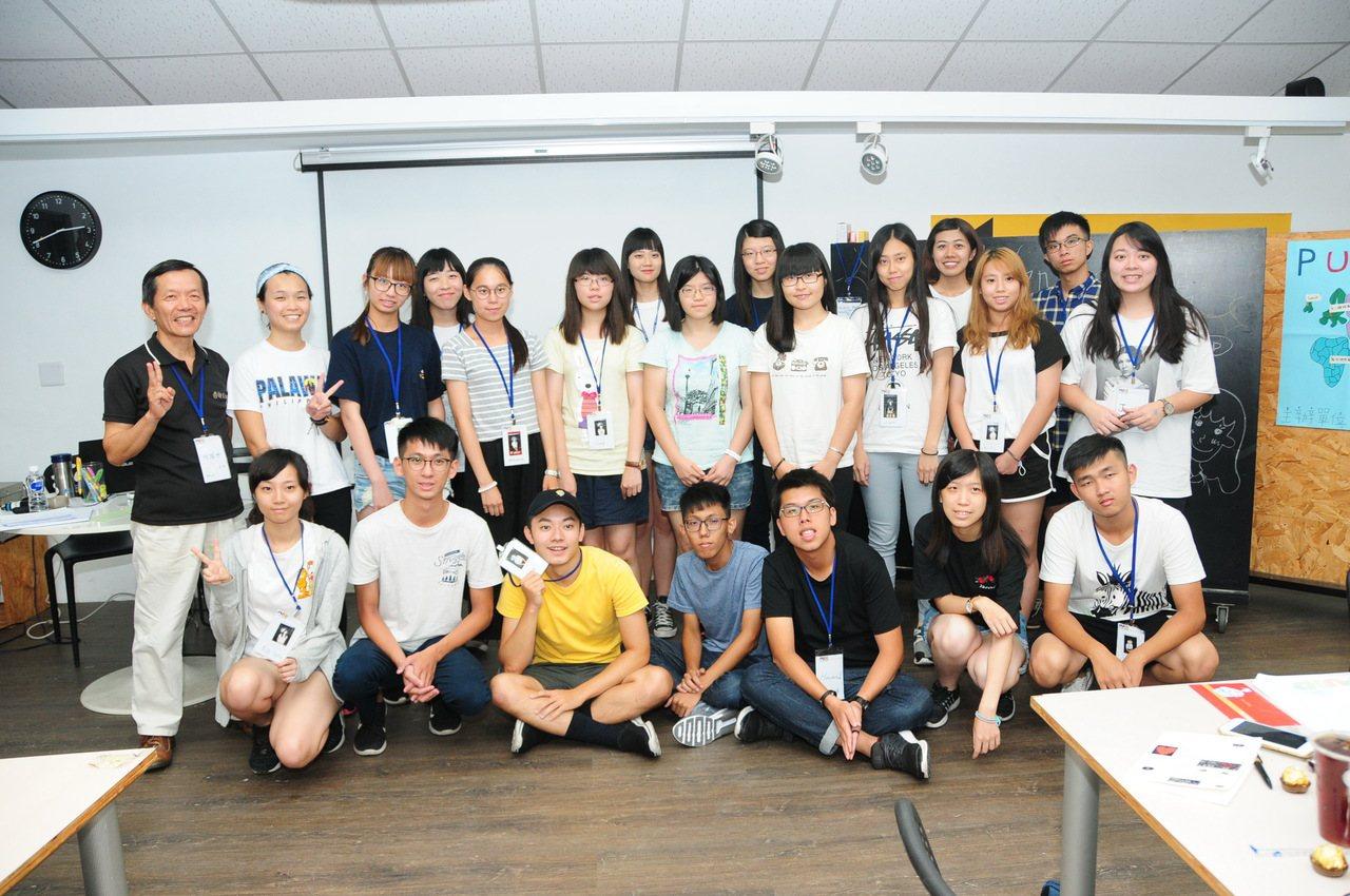 靜宜大學近日舉行全英語的暑期團隊,讓新鮮人提早接觸順應大學生活。記者洪上元/攝影