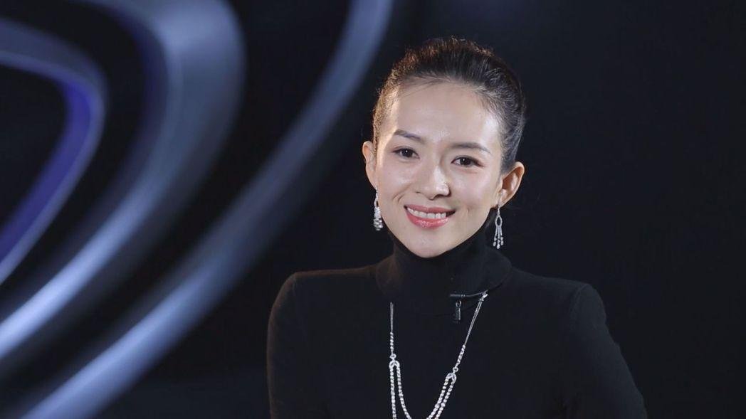 章子怡接受陶晶瑩訪問。圖/衛視中文台提供