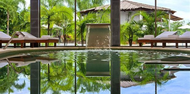 喜來登伊瓜蘇水療度假酒店鄰近巴西伊瓜蘇瀑布,讓旅客輕鬆蒐集新世界奇景。圖/KAY...