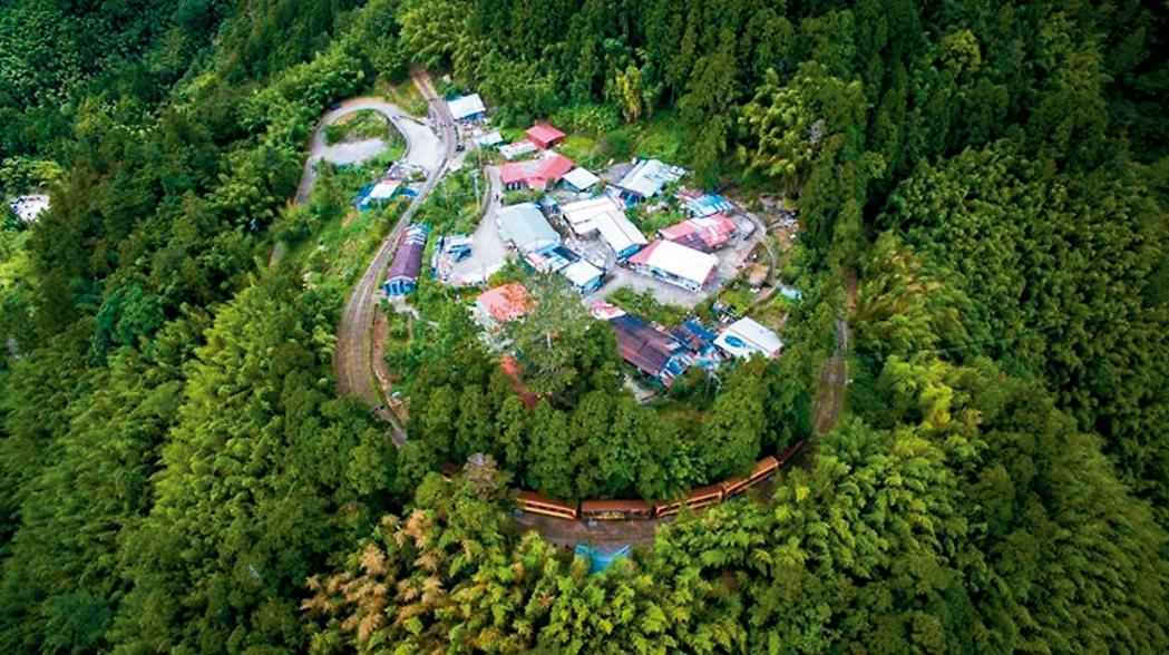 多林車站的古名是鄒語「哆囉嘕」,意思是茂密森林。 圖/賴國華提供