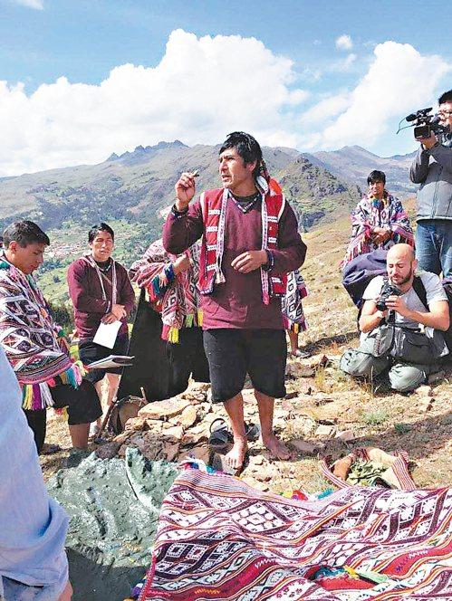馬鈴薯公園的農民找回傳統力,力抗氣候變遷。 記者蔣宗裕/攝影