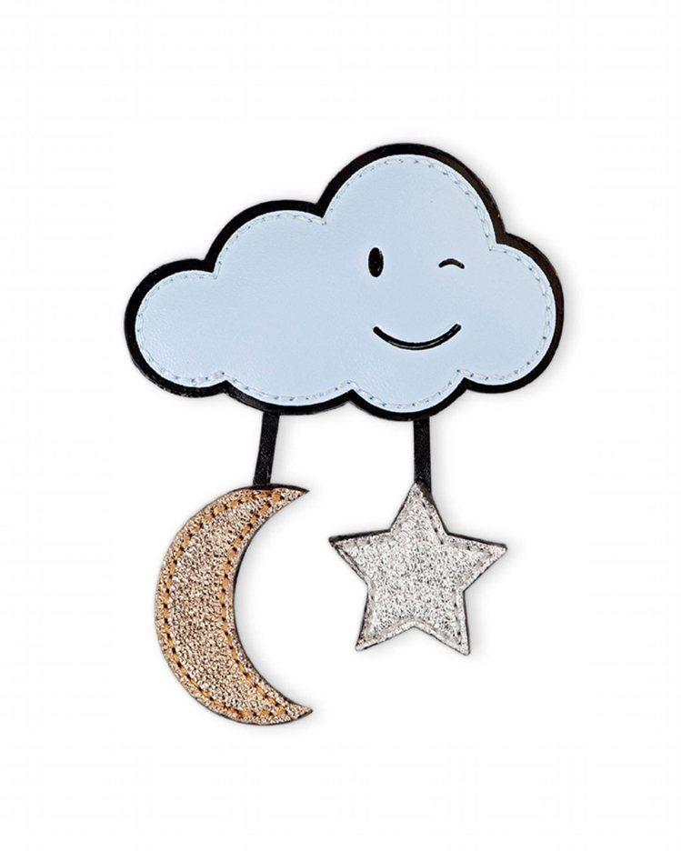 微笑雲朵帶來天馬行空的想像力。圖/Longchamp提供