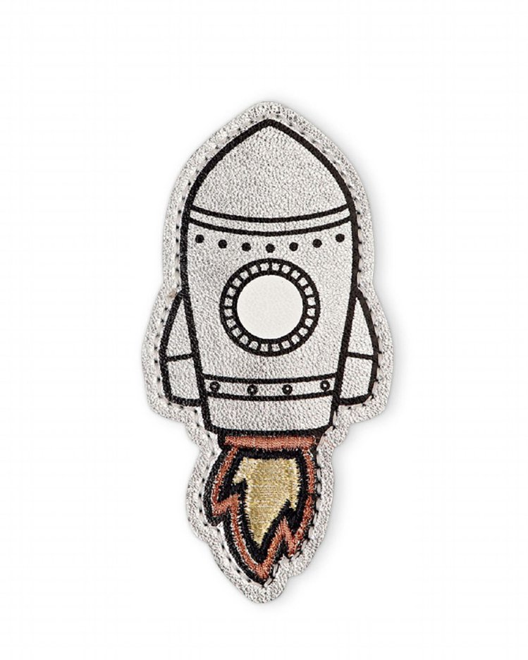 「火箭」圖騰象徵太空冒險樂趣。圖/Longchamp提供
