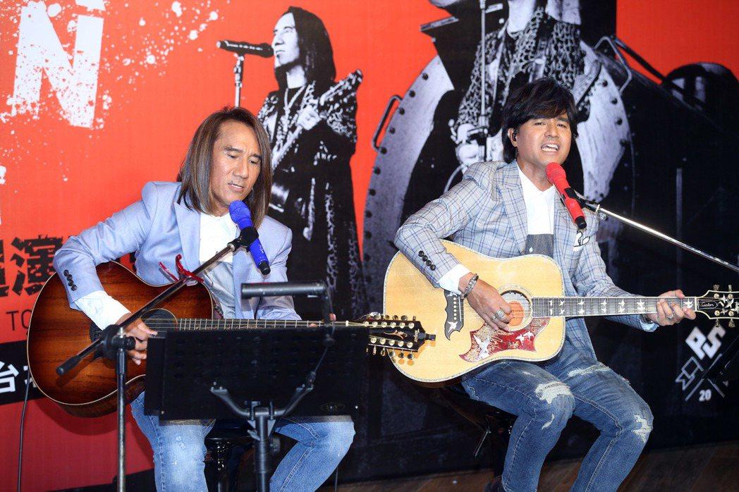 「動力火車」將舉辦成軍20年演唱會。記者陳瑞源/攝影