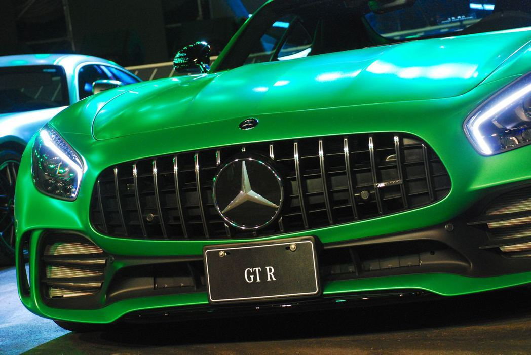 Mercedes-AMG GT R。記者林昱丞/攝影