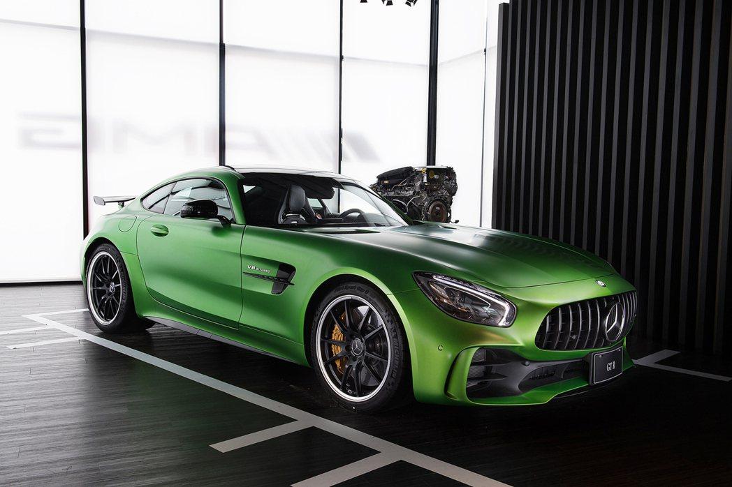 Mercedes-AMG GT R。圖/台灣賓士提供