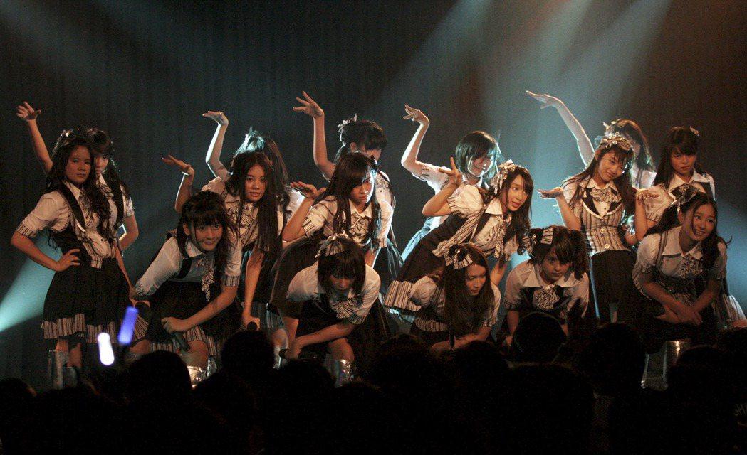 2011年成軍出道的印尼JKT48,為AKB48第一個日本海外活動的姐妹團。 圖...