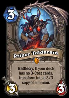 中立手下:Prince Taldaram(傳說)